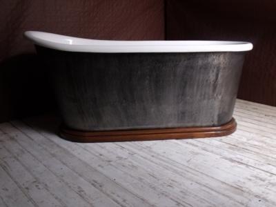 baignoire demi bateau. Black Bedroom Furniture Sets. Home Design Ideas